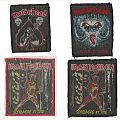 Patch - Iron Maiden & Motörhead Patches