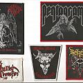 Patch - Pentagram, Archgoat, Hellish Crossfire, Venom & Beherit Patches