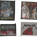 Patch - Blaspheme, Death and Metallica Patches