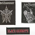 Patch - Hellhammer, Nunslaughter & Black Sabbath Patches