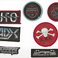 Patch - UFO, Rainbow, Vio-Lence, ADX, Accept & Angel Of Damnation Patches