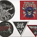 Patch - Rigor Mortis, Witchcraft, kreator, Attic & Saxon Patches