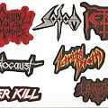 Patch - Gospel Of The Horns, Sodom, Ketzer, Holocaust, Living Death, Overkill & Ungod Patches