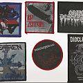 Patch - Sepultura, Led Zeppelin, Grave Desecrator, Heathen, Deströyer 666 & Diocletian Patches