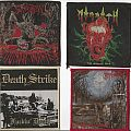 Suffocation - Patch - Morgoth, Death Strike, Suffocation & Baphomet Patches