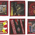 DRI, Witchburner, Possessed, SOD, Violent Force & Cryptic Slaughter Patches
