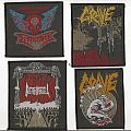 Patch - Dismember, Grave & Death Angel Patches