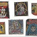Patch - Kreator, Slayer, Iron Maiden, Testament, Motörhead & Iron Maiden Patches