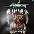 Raven - Tape / Vinyl / CD / Recording etc - Life's a Bitch - Brazilian edition, signed