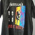 Guns N' Roses - TShirt or Longsleeve - Guns N' Roses - Metallica Tour 1992