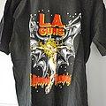 L.A. Guns - TShirt or Longsleeve - L.A. Guns - Hollywood Vampires tour 1991