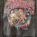 Guns N' Roses - Battle Jacket - Guns N Roses Limited Edition Halloween Monsters Design Denim Jacket