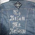 Battle Jacket - Denim jacket (drawn back side)