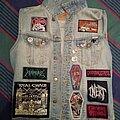 Death - Battle Jacket - My Battle Jacket W.I.P