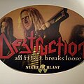 Destruction - Other Collectable - Destruction - All HELL breaks loose - promo sticker