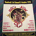 Hard Seine Festival - Other Collectable - HARD SEINE 1992 festival poster