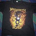 Megadeth - TShirt or Longsleeve - Megadeth - Rust in Peace Europe Tour shirt