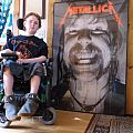 Giant Hetfield Metallica Poster Other Collectable