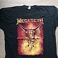 Megadeth - TShirt or Longsleeve - Megadeth European tour shirt 1993