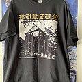 Burzum - TShirt or Longsleeve - Burzum - Aske Gold Logo Shirt XL