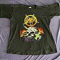 Slayer - TShirt or Longsleeve - Slayer - Guitar/Skull shirt, 90s M