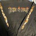 Cradle Of Filth - Hooded Top - Cradle of Filth - Median / Fire Logo Hoodie