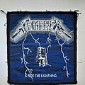 Metallica - Patch - Metallica Ride the Lightning Original Patch