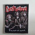 Destruction - Patch - Destruction Thrash 'till Death Woven Patch