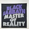 Black Sabbath - Patch - Black Sabbath Master of Reality Patch