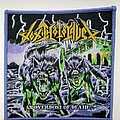 Toxic Holocaust - Patch - Toxic Holocaust An Overdose of Death... purple border patch