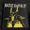 Bathory - Patch - Bathory yellow goat