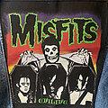 Misfits - Patch - Misfits Evilive 80s back patch