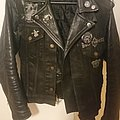 Axegrinder - Battle Jacket - Jeans-Leather Combo