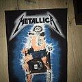 Metallica - Patch - Metallica RTL  backpatch