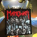Manowar - Patch - Manowar - Fighting the World VTG patch