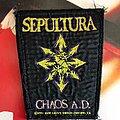 Sepultura - Patch - Chaos A.D patch