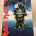Iron Maiden - Other Collectable - Iron Maiden flag 1988