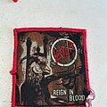 Slayer - Patch - Slayer rib redborder patch