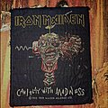 Iron Maiden - Patch - Iron Maiden patch 1988