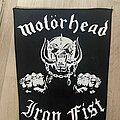 Motörhead - Patch - Motörhead Iron Fist backpatch