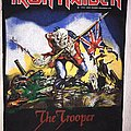 Iron Maiden - Patch - Iron Maiden Trooper backpatch 1983