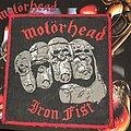 Motörhead - Patch - Mötorhead Iron Fist