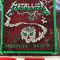 Metallica - Patch - Metallica GREEN BORDER Creeping Death patch