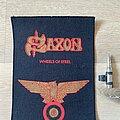 Saxon - Patch - Saxon mini Backpatch