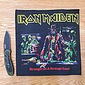Iron Maiden - Patch - Iron Maiden - Stranger in A Strange Land (Small Backpatch)