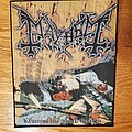 Mayhem - Patch - Mayhem - Dawn of the Black Hearts Woven Backpatch