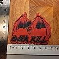 Overkill - Patch - Overkill logo charly patch