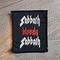 Black Sabbath - Patch - Sabbath bloody sabbath patch