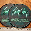 Overkill - Patch - Overkill nuclear logo patch