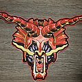 Judas Priest - Patch - Defenders of the faith leather backpatch